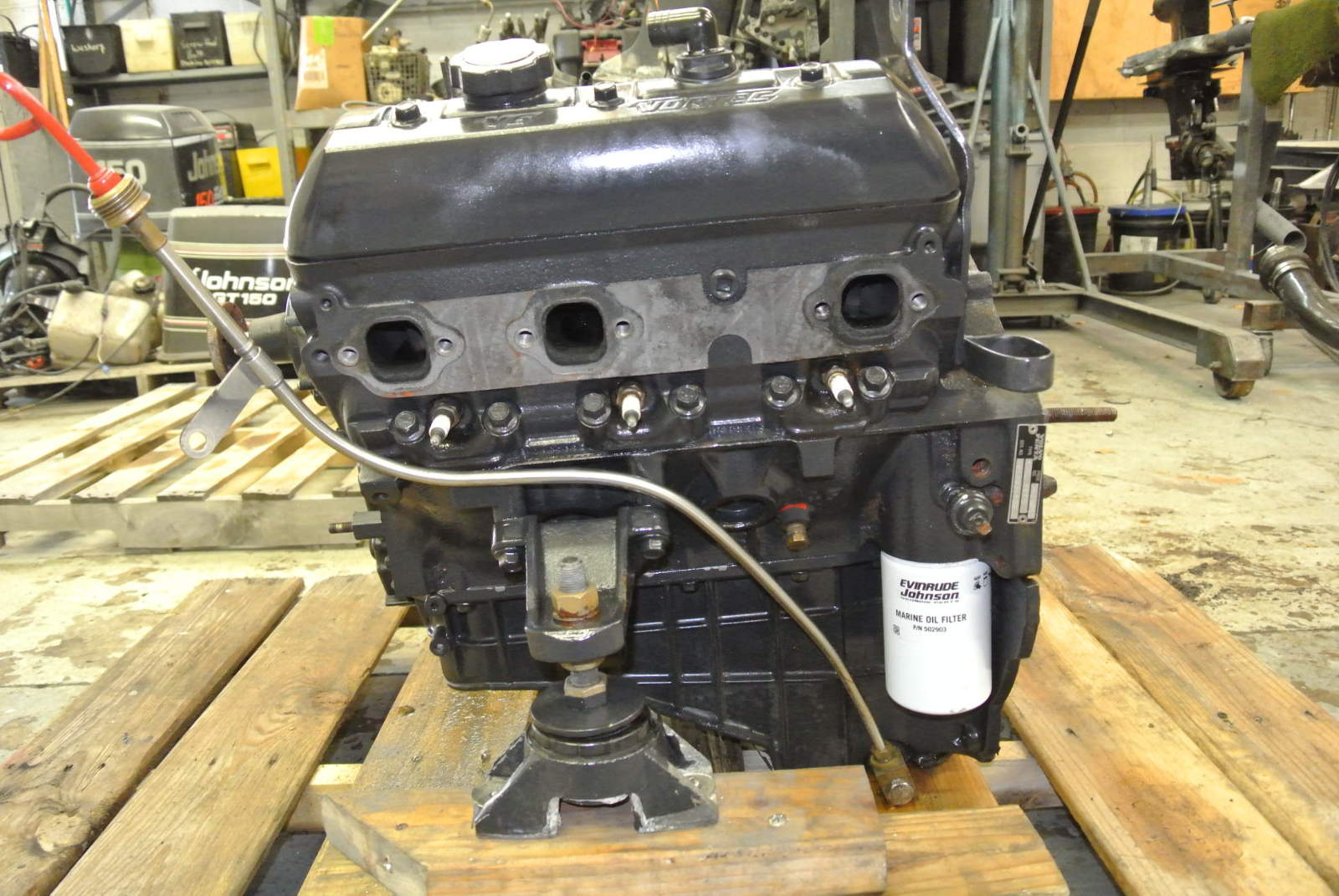 4.3 Vortech Marine Engine Volvo Mercruiser OMC Alpha 1 Engine Chevy V6 GM