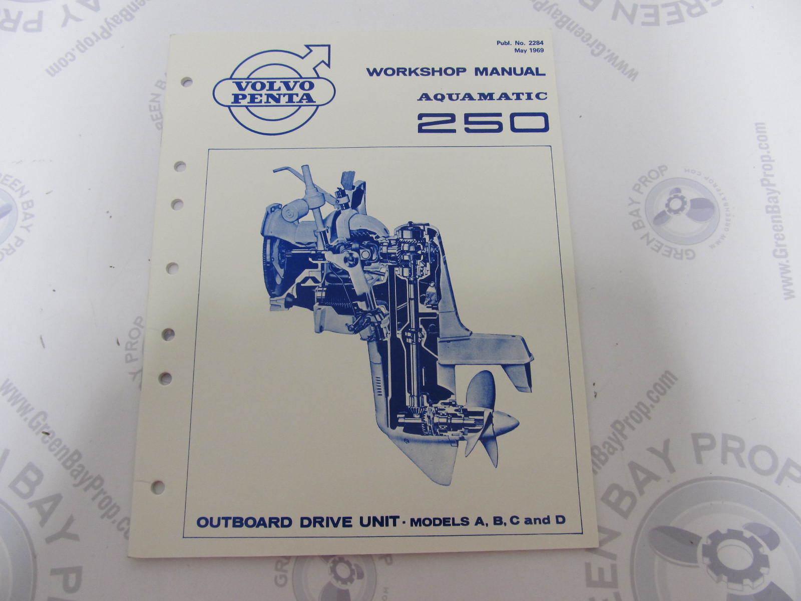 Volvo penta Aq120 Service Manual Nissan Gtr For sale