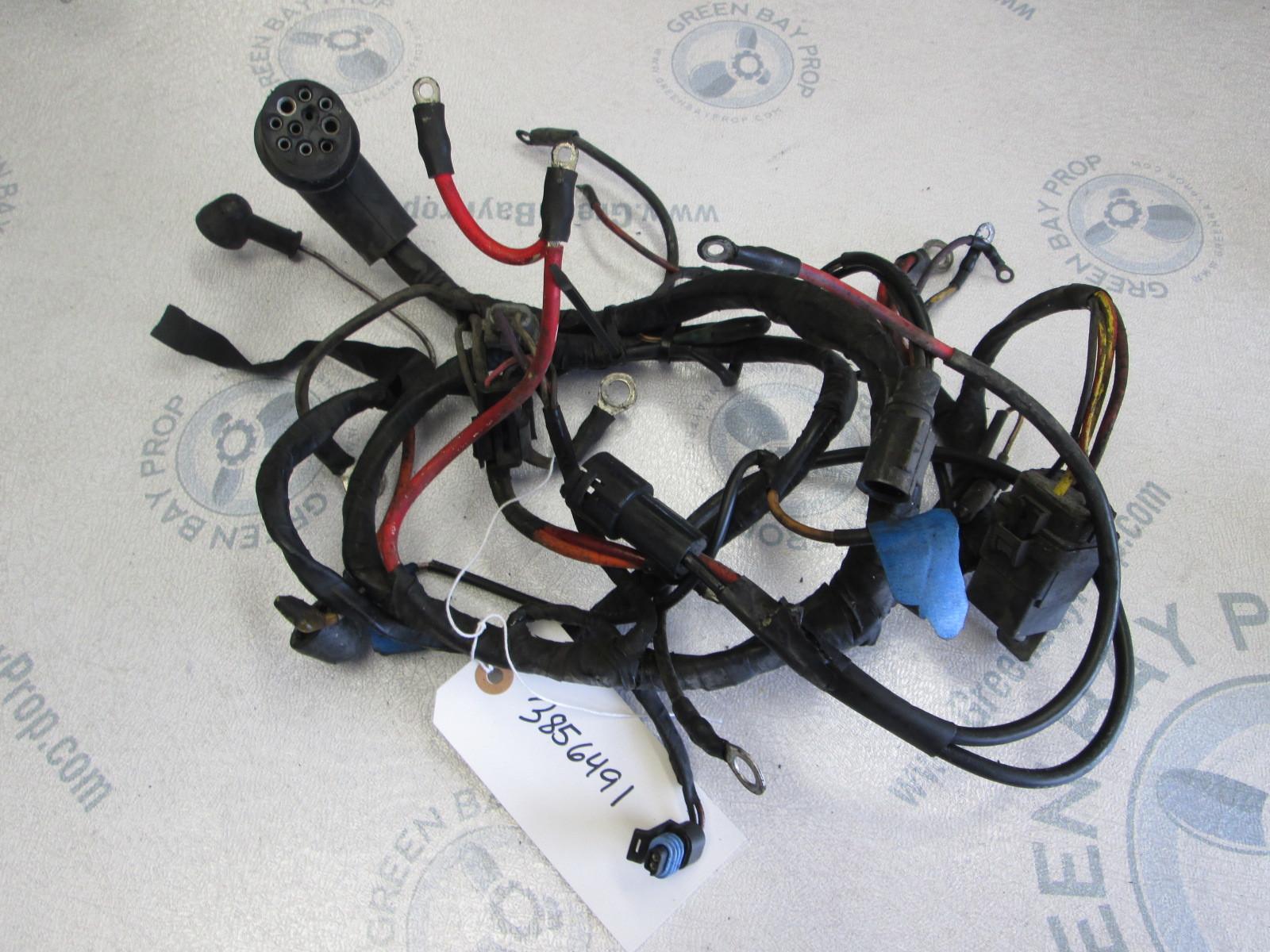 3856491 Volvo Penta SX & OMC Cobra 3.0 4 Cyl Stern Drive Engine Wire Harness  | Green Bay Propeller & Marine LLCGreen Bay Prop