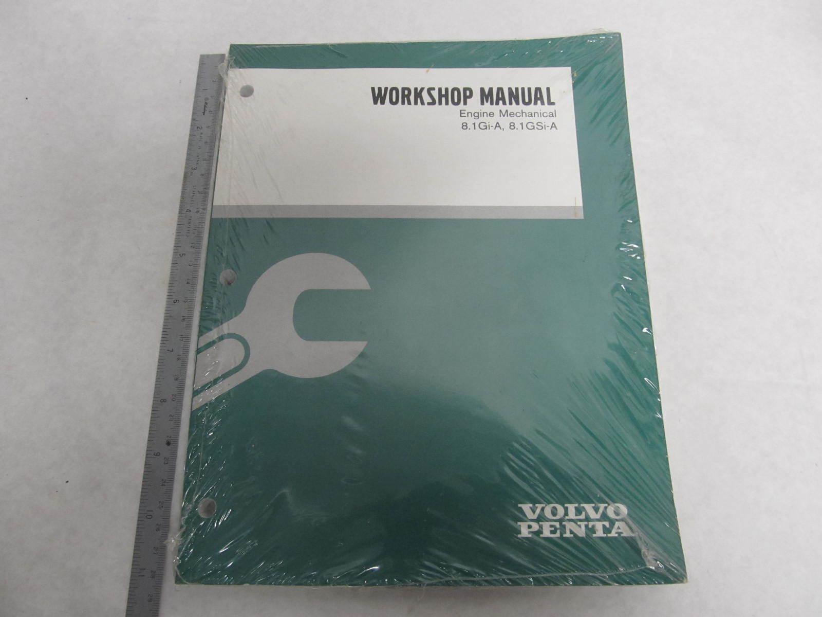 volvo penta 8 1l owners manual