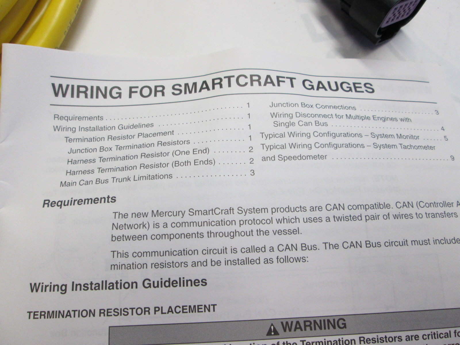 Mercury Smartcraft Wiring Harness | Wiring Library