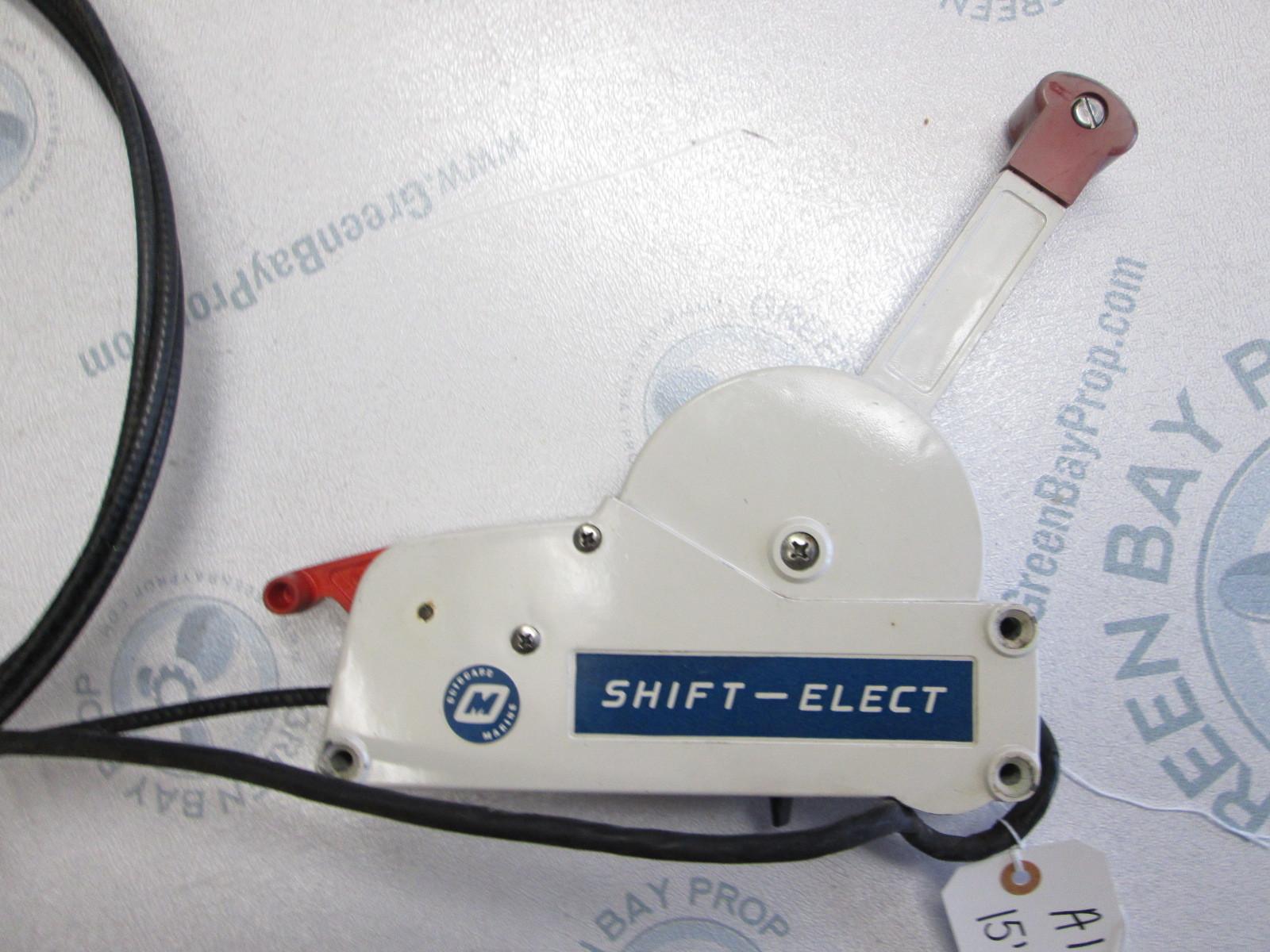 OMC Stringer Shift-Elect Throttle Remote Control Box & 14' Cable