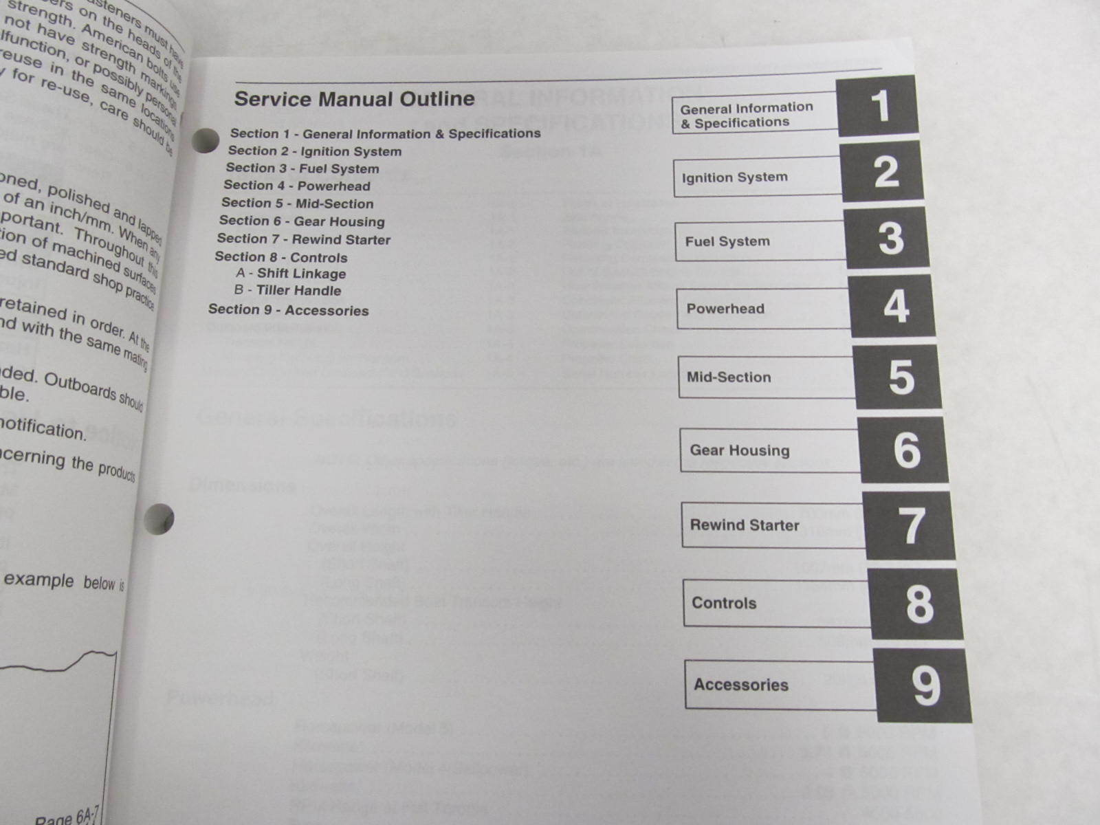 ... 90-17308R02 Mercury Outboard Service Manual 4/5/102cc Sailpower ...