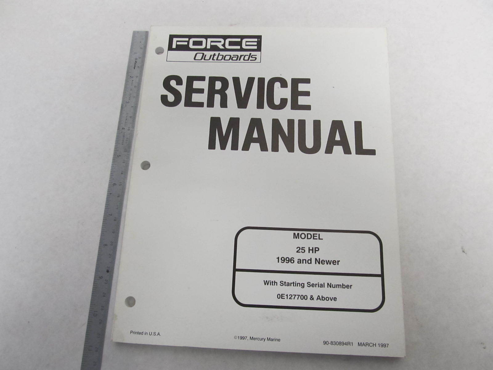 1996 mercury force outboard service manual 25 hp green bay rh greenbayprop  com 25 HP Mercury Outboard Repair 25 HP Mercury Outboard Parts