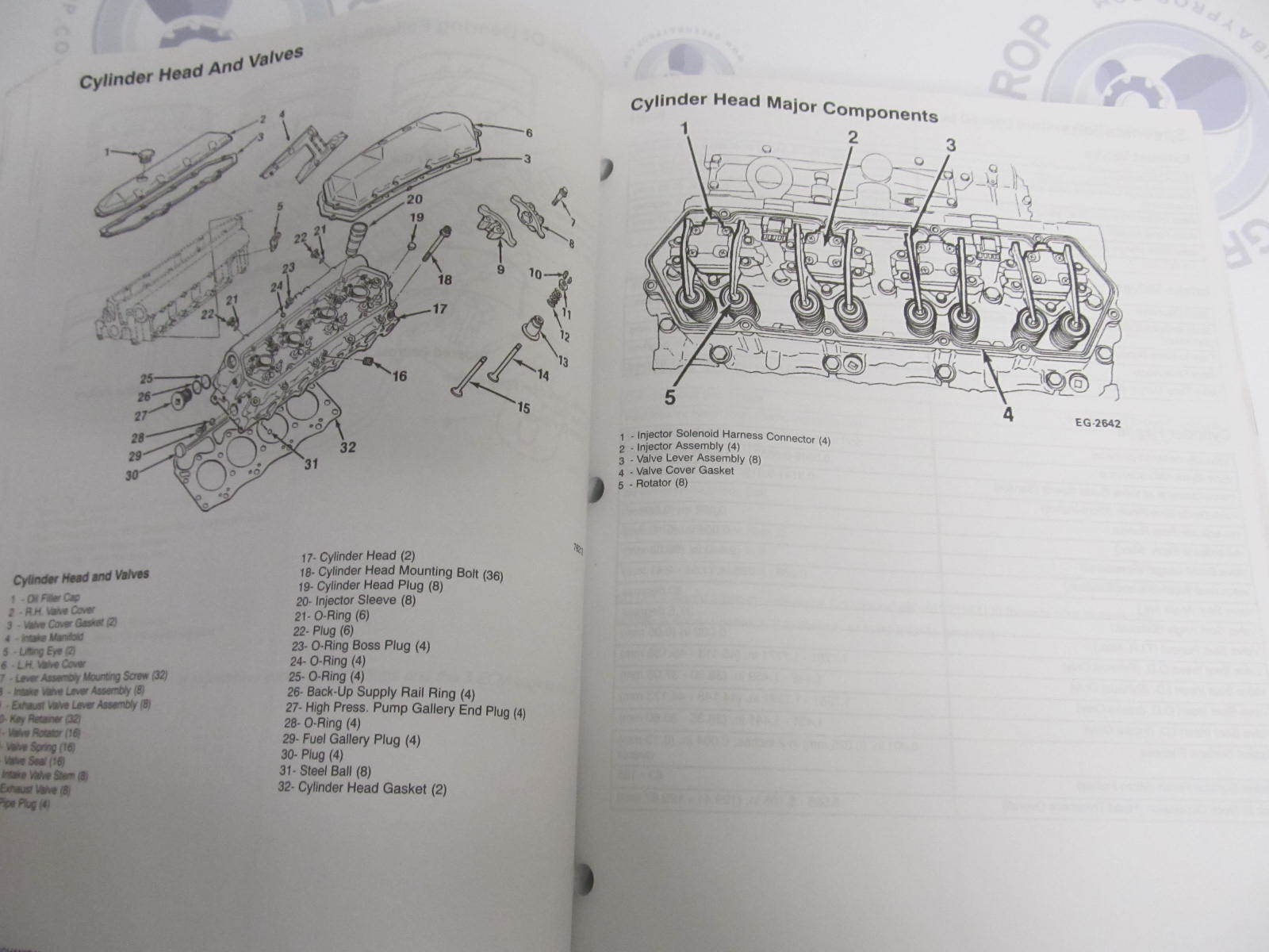 ... 90-861784-1 MerCruiser Diesel Service Manual Number #27 D7.3L D