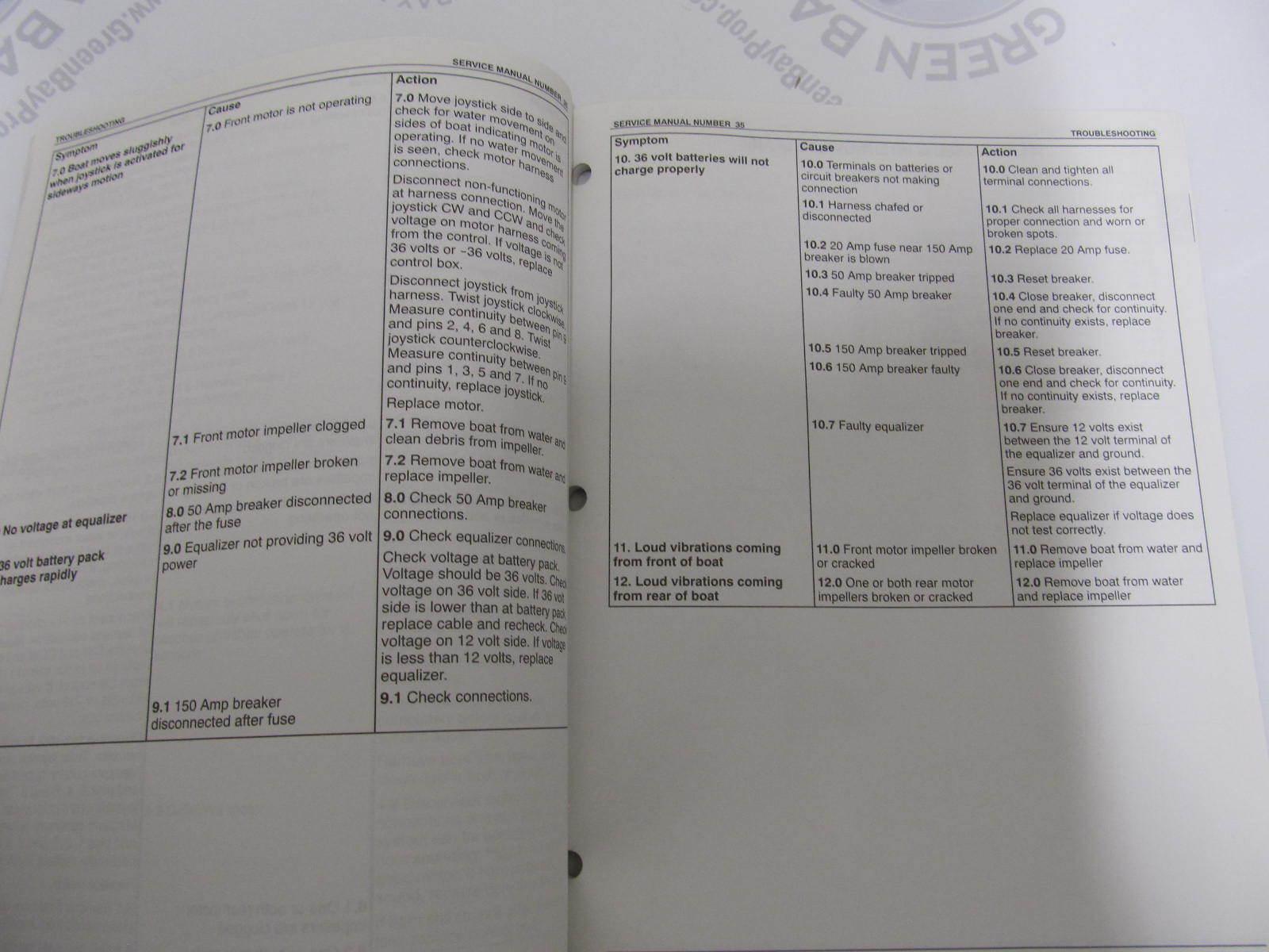 ... 90-864212 Mercury Mercruiser #35 Service Manual Precision Pilot