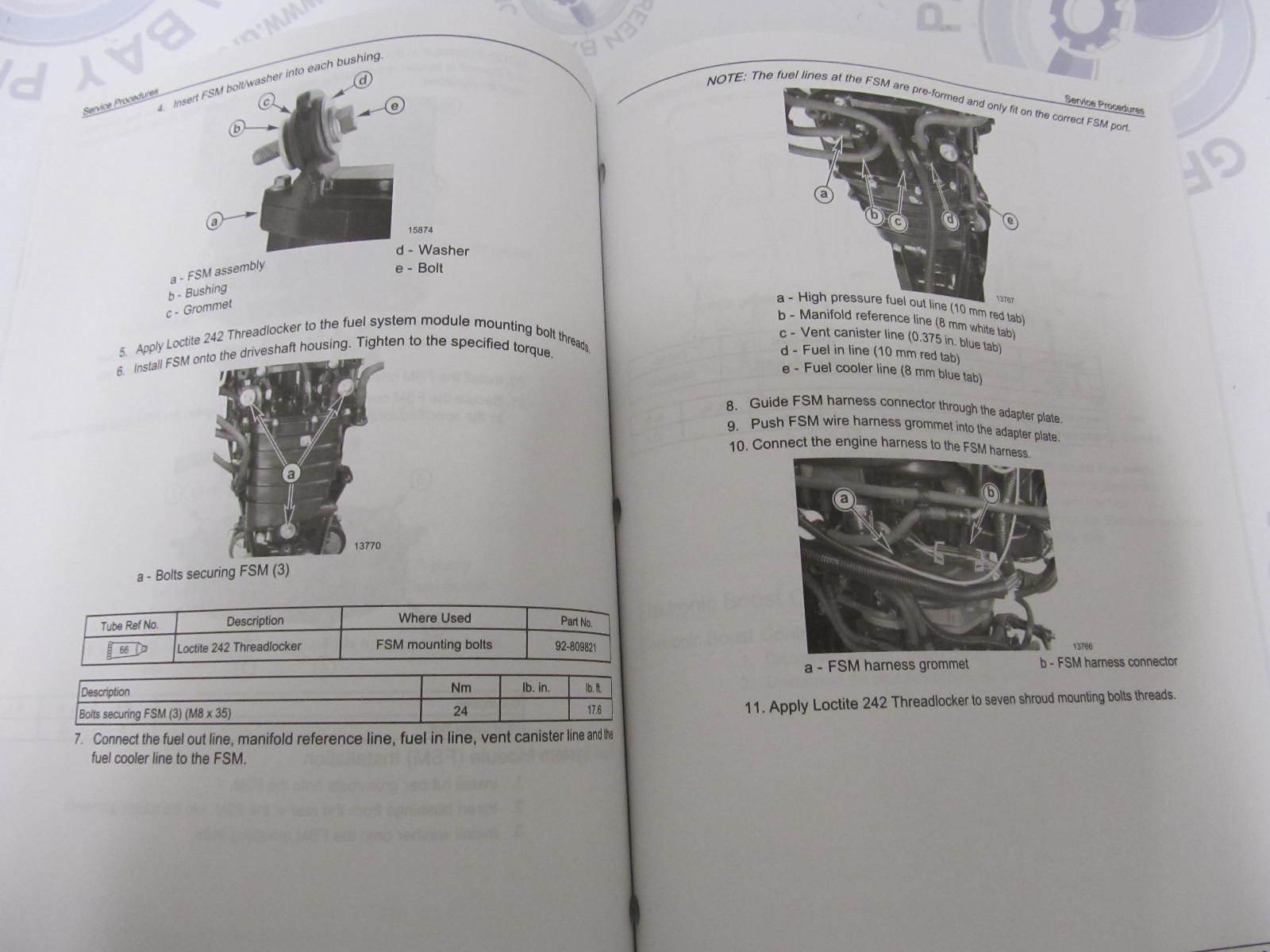 Verado 150 Service Manual Yamaha Yb100 Wiring Diagram Array 90 897928300 Mercury Outboard 135 175 4 Stroke Rh Greenbayprop Com