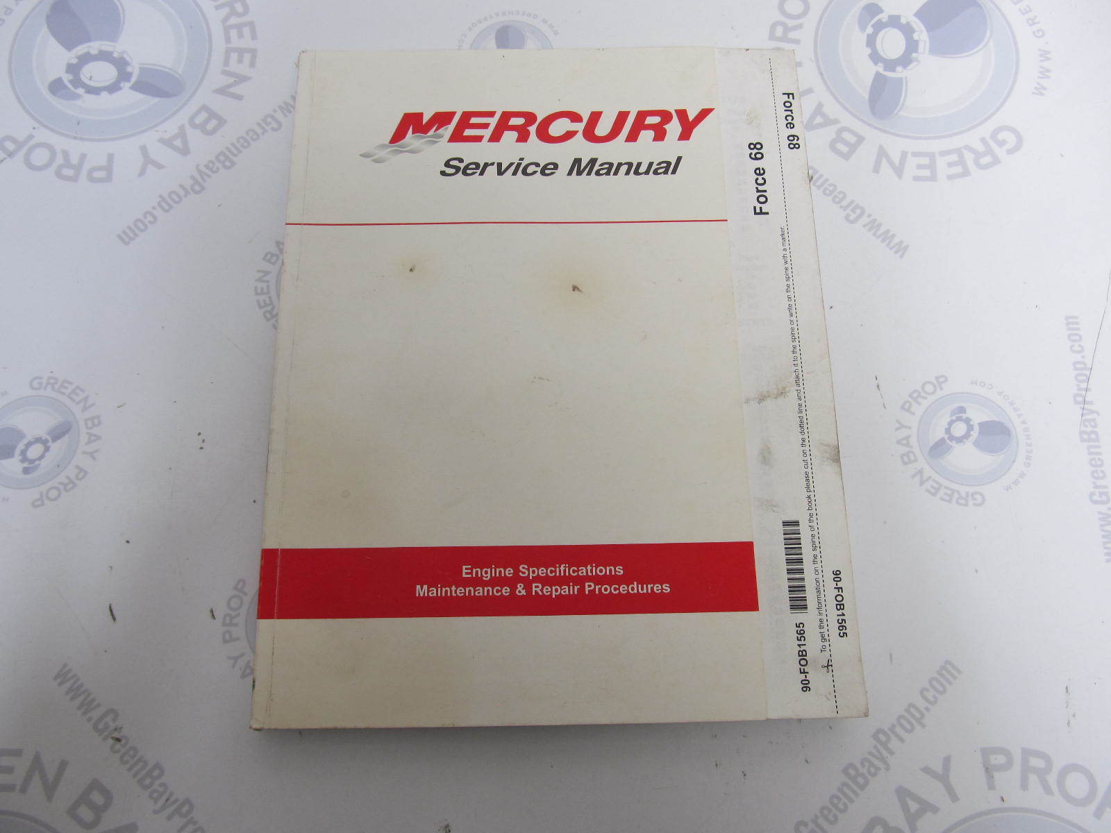 90-FOB1565 Mercury Chrysler Force Outboard Service Manual 70-150 HP  1965-1979 ...
