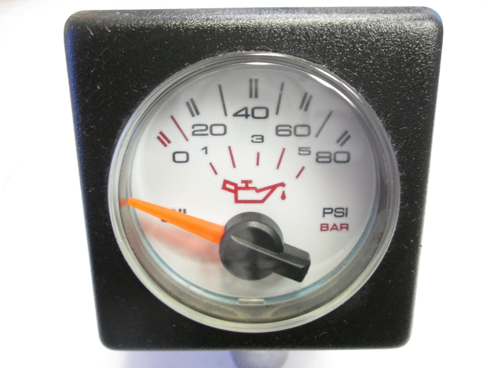Bayliner Faria CS023 Square Bezel Oil Pressure Gauge