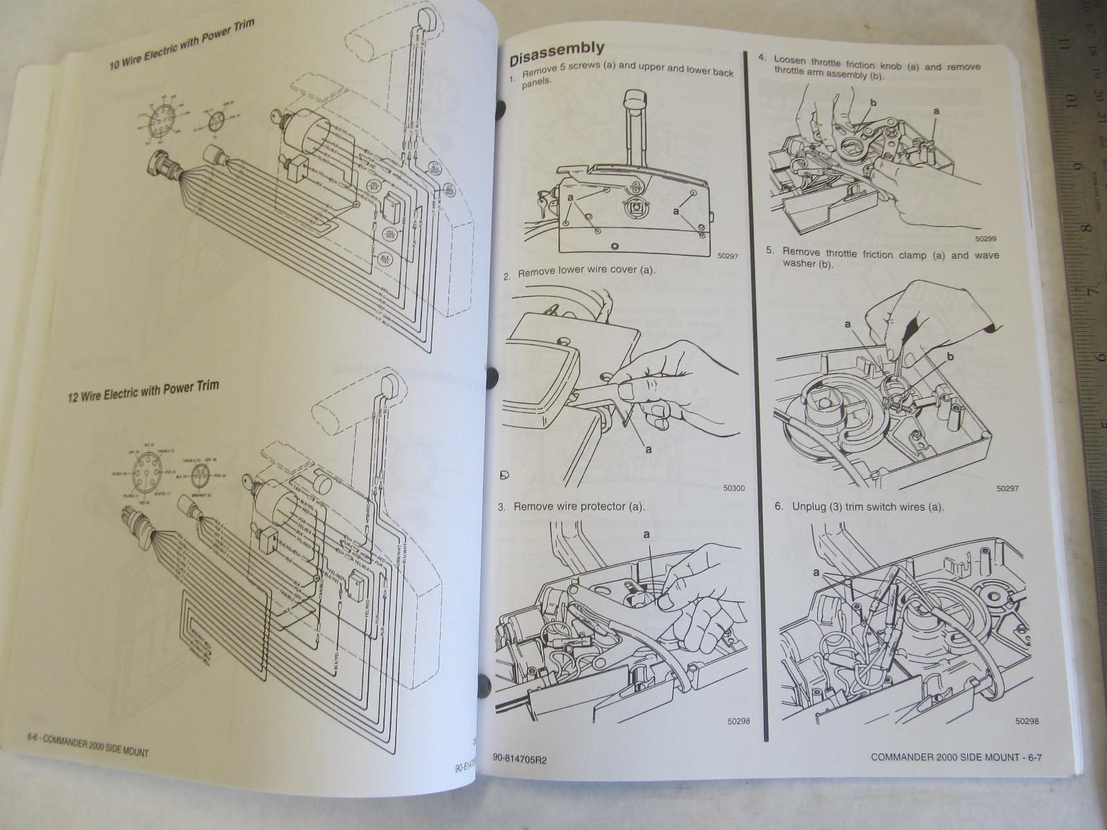 quicksilver remote control service manual today manual guide rh brookejasmine co quicksilver 3000 control manual Mercury Quicksilver Control Diagram