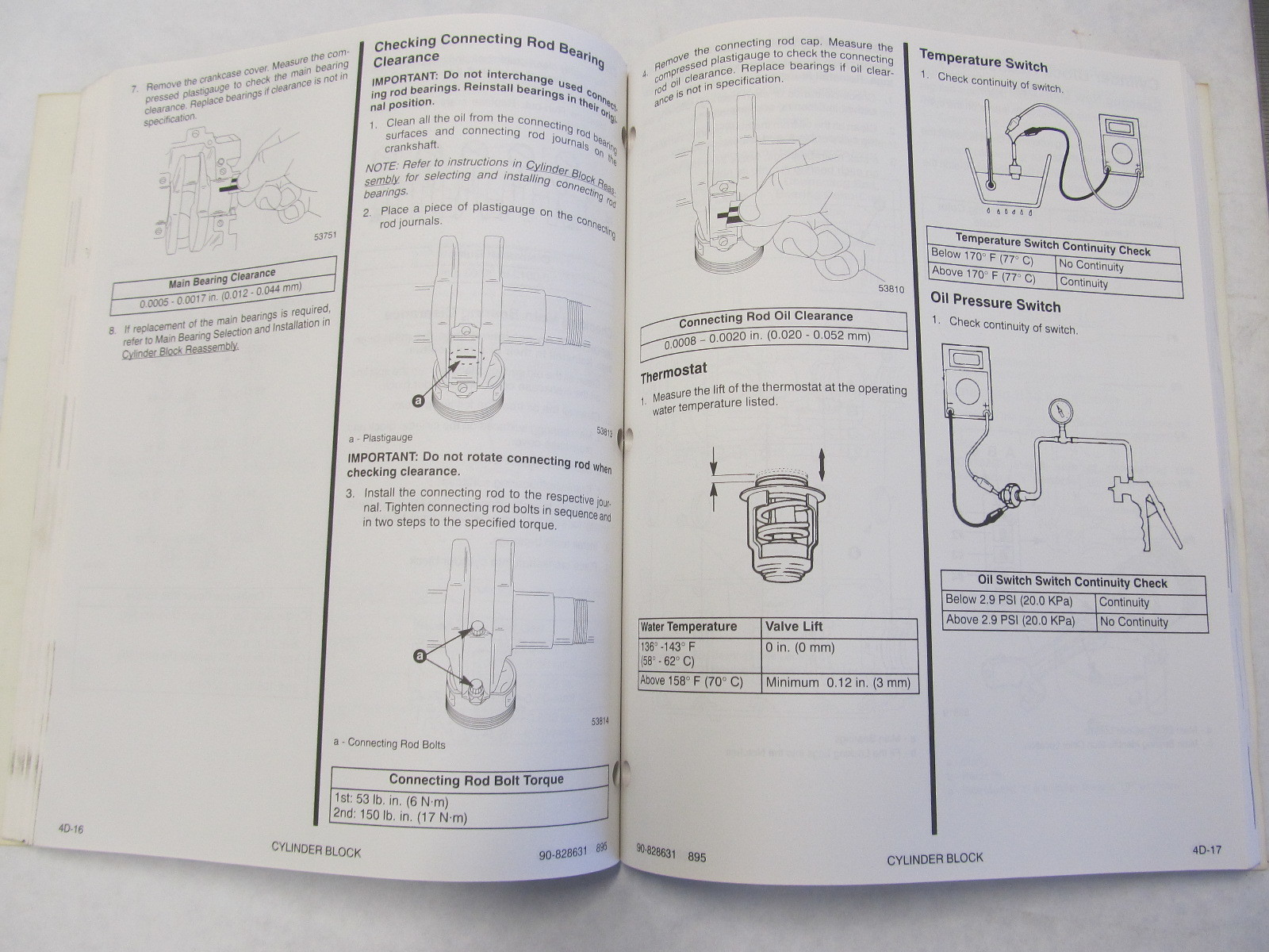 ... 1995 Mercury Mariner Outboard Service Manual 45-50 HP 4-Stroke
