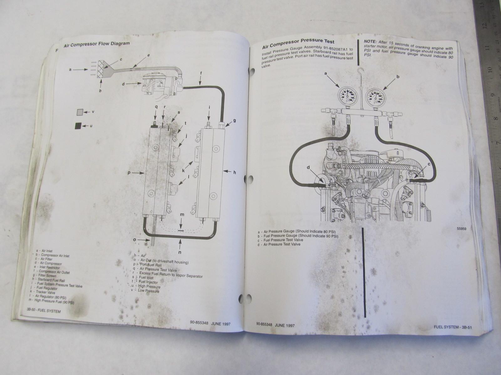 1997 Mercury Mariner Outboard Service Manual 200 225