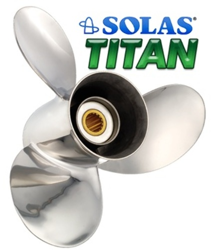 13 3/4 x 15 Pitch Stainless Steel Prop Honda Nissan/Tohatsu 60-130 HP Outboard