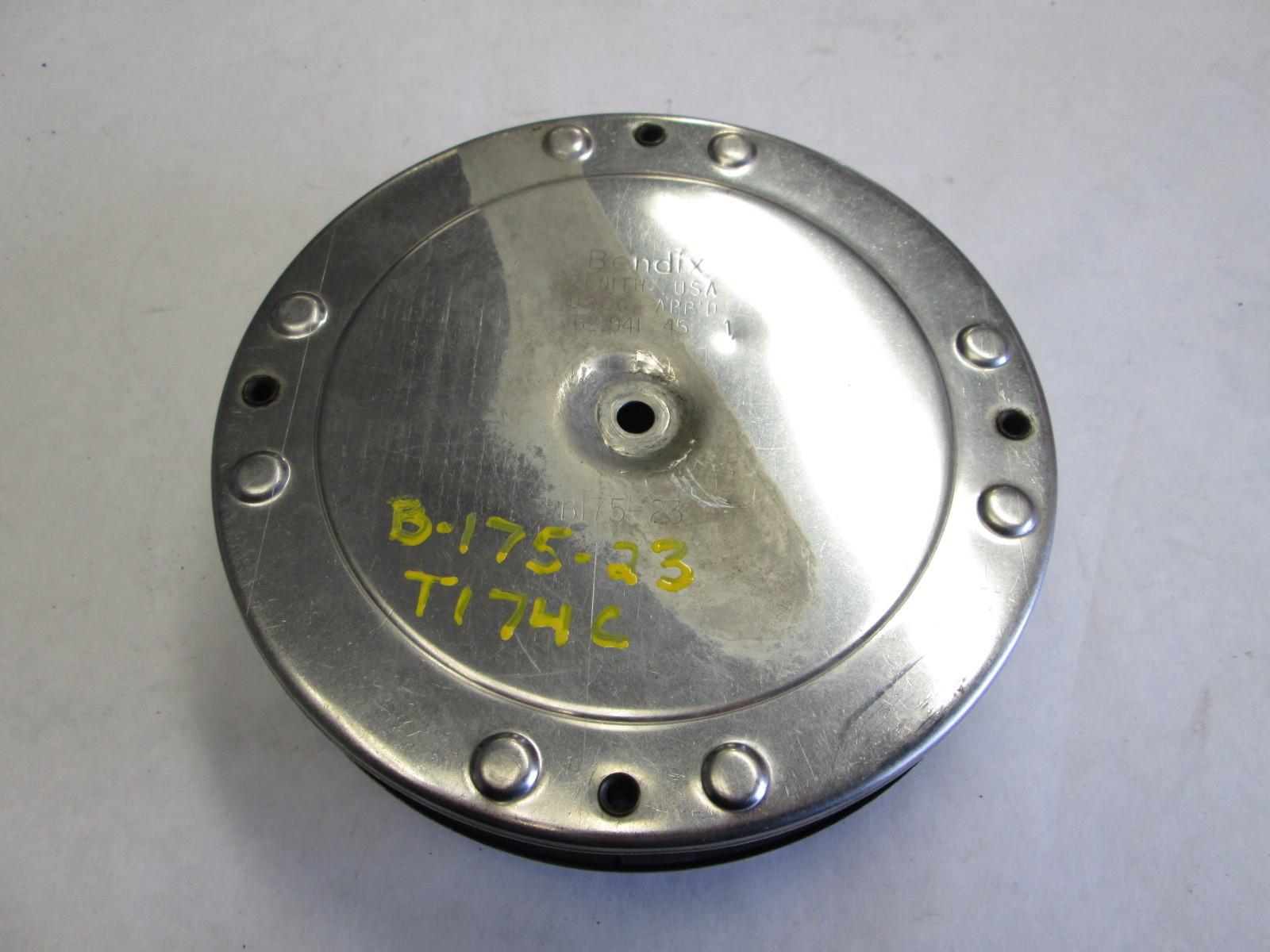 "B175-23 Mercruiser Stainless Bendix Carburetor Flame Arrestor 2 5/8"" Throat"