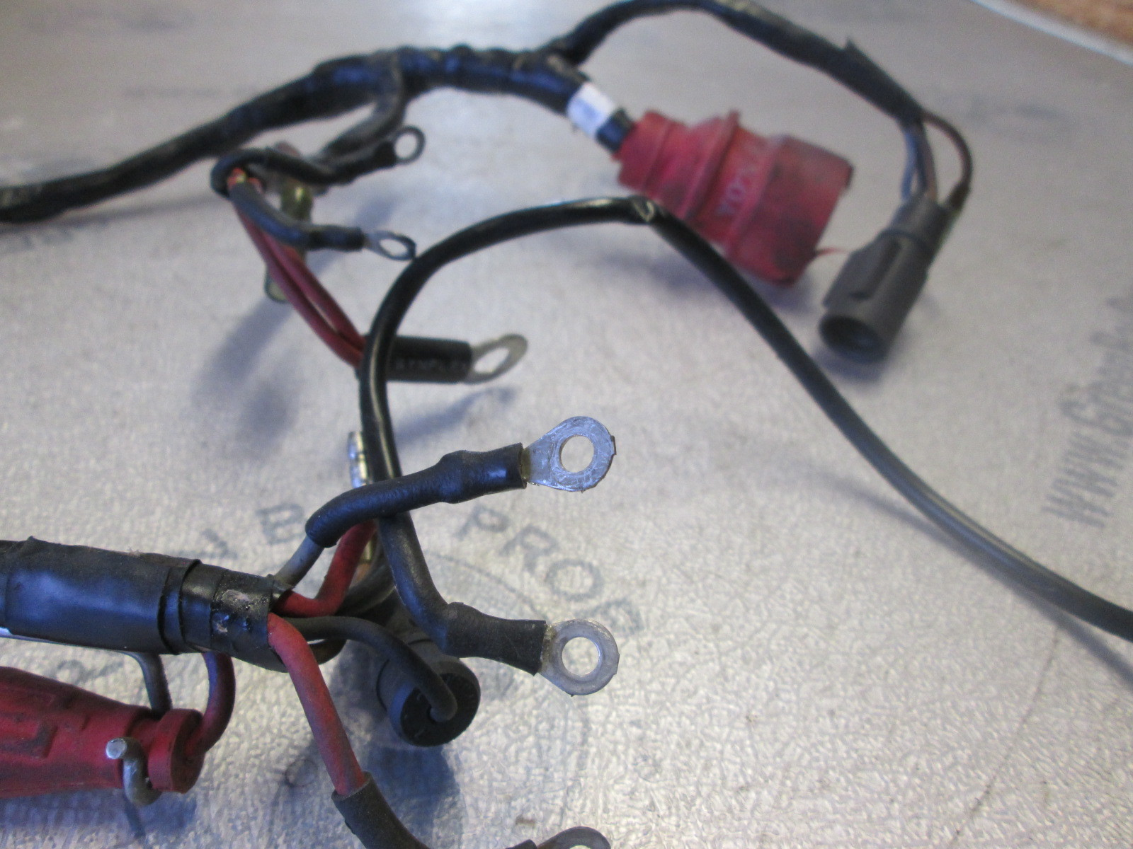 0583649 0512748 Motor Cable Engine Wire Harness Evinrude Johnson 40 50 hp