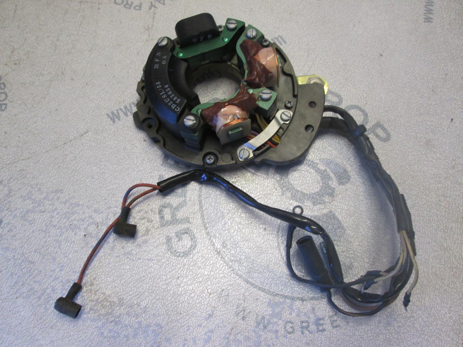 0584341 0583485 Power Pack & Stator Johnson Evinrude 0584329