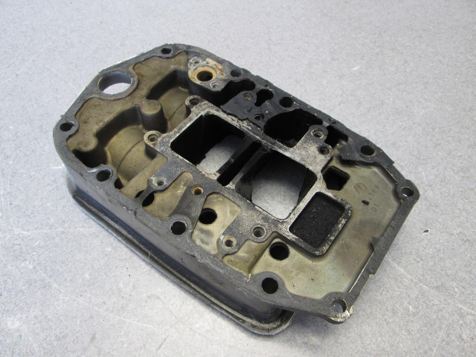 334369 0351178 Evinrude Johnson 40 45 50 55 Hp Exhaust Adapter Plate