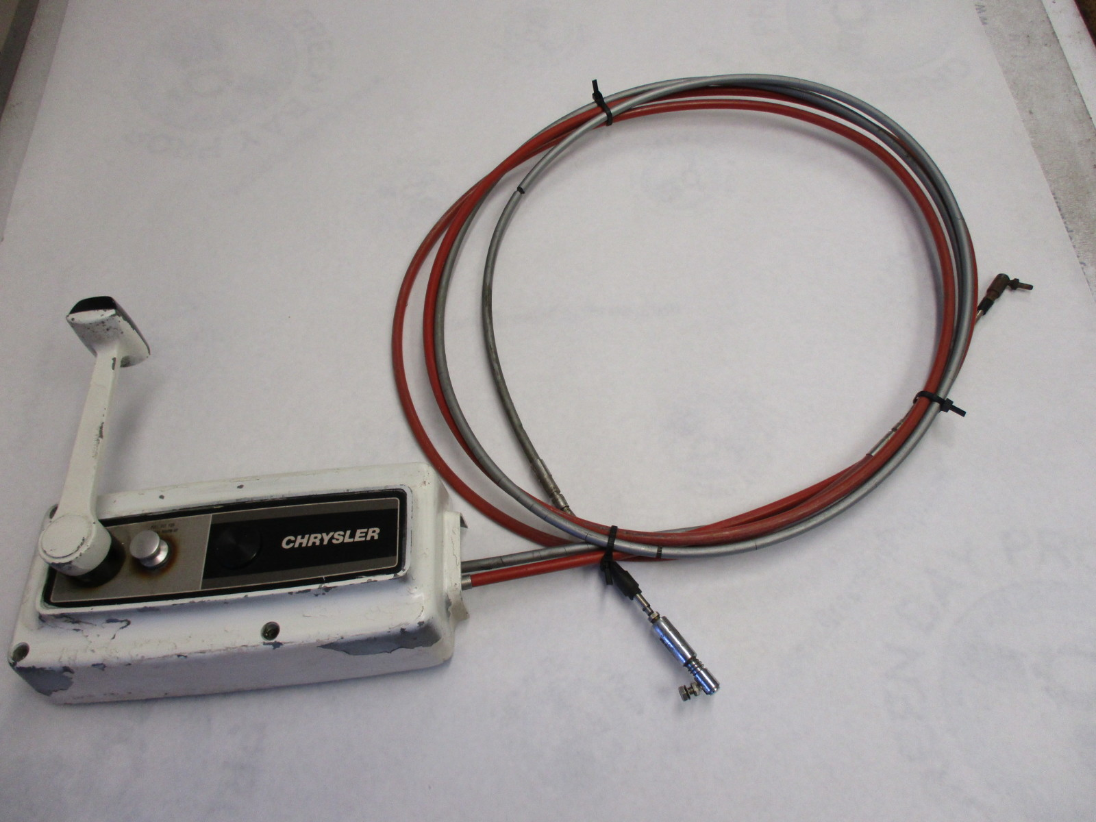 force chrysler outboard 10 ft cables remote control box | green bay  propeller & marine llc