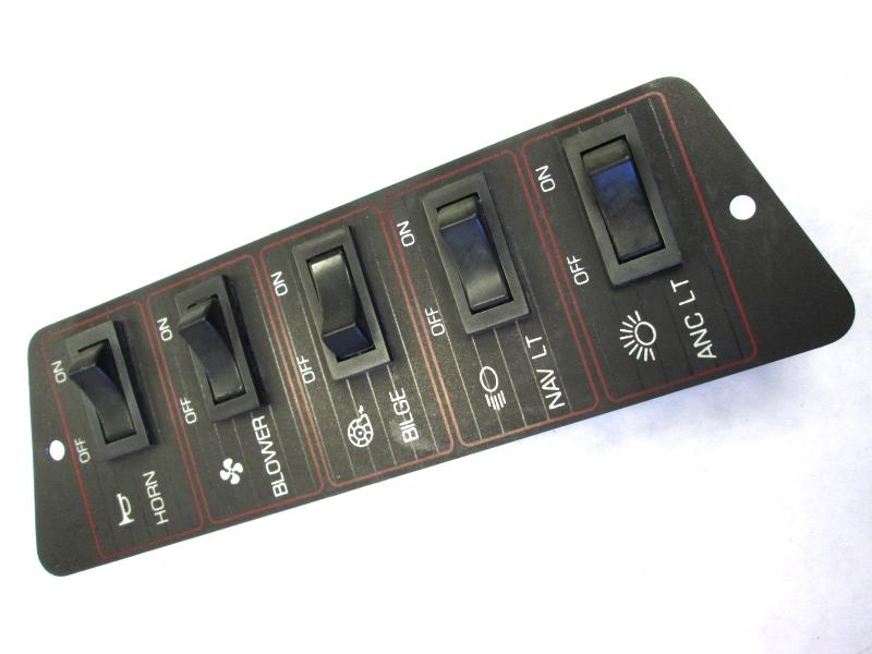 Dash Panel Switches for 1989 Bayliner Capri Boat