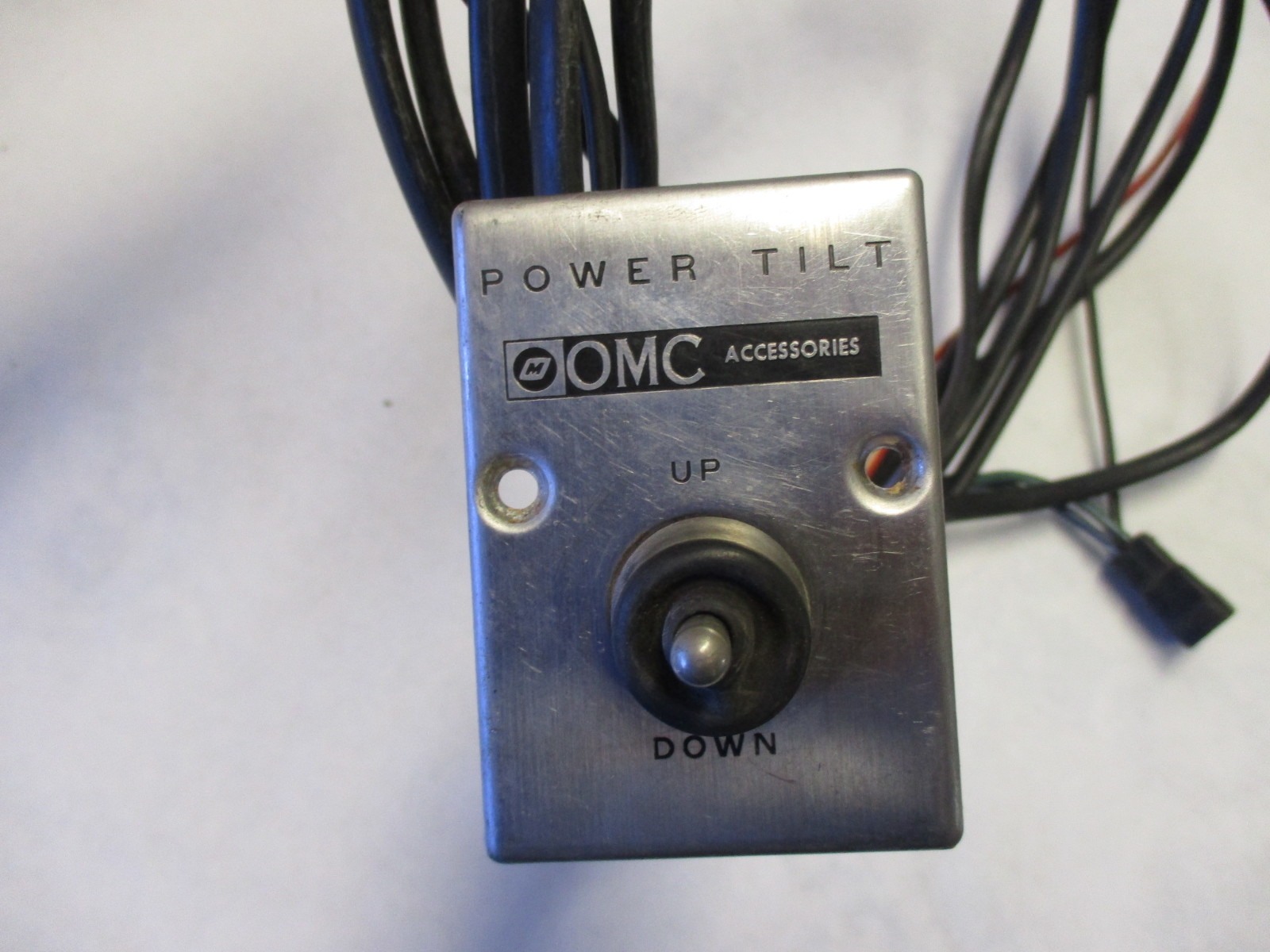 on omc power lift wiring harness