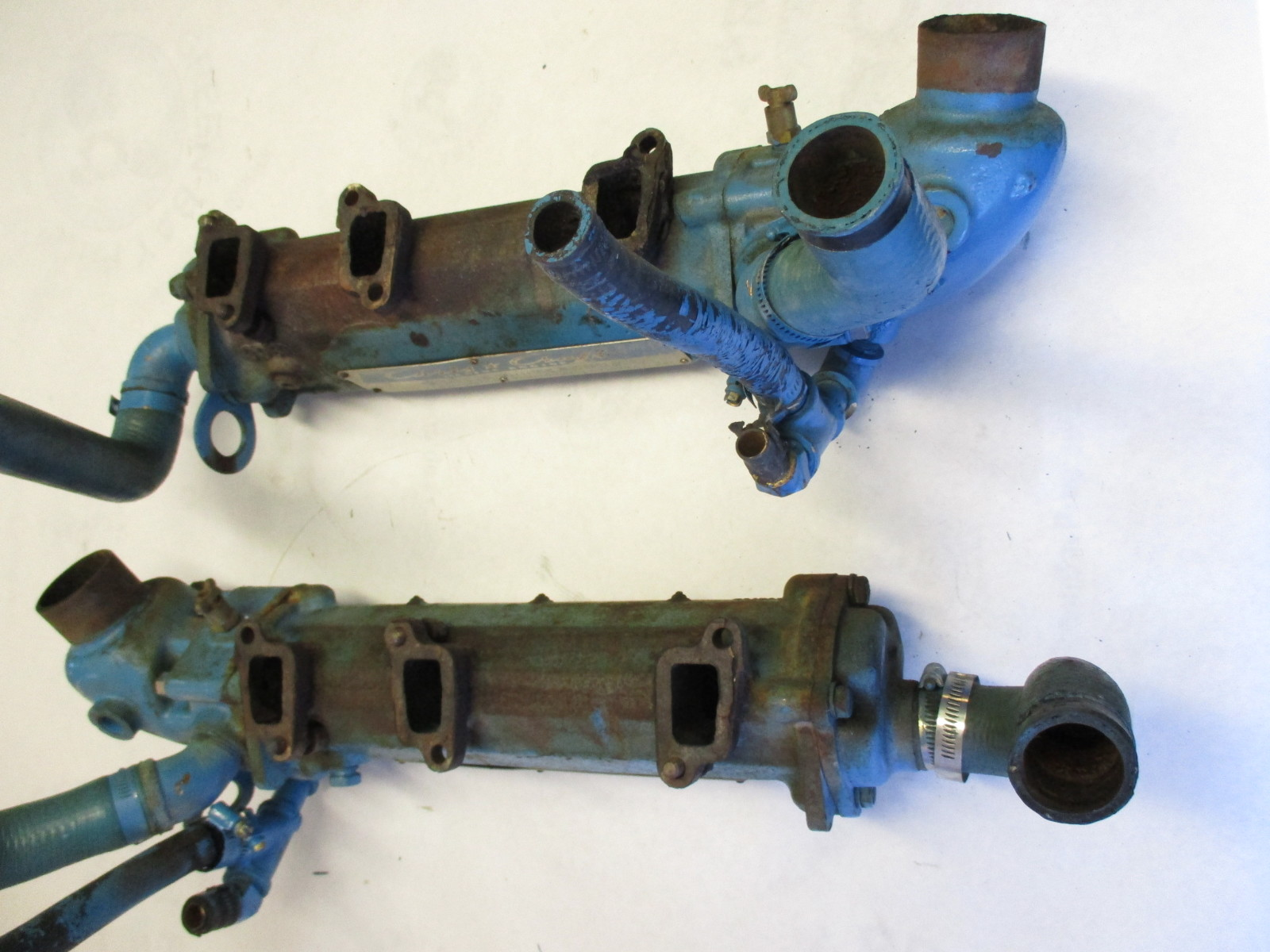 1960s Exhaust Manifold Omc Chris Craft Buick V6 Engine 306662 Block Casting Numbers Model 225