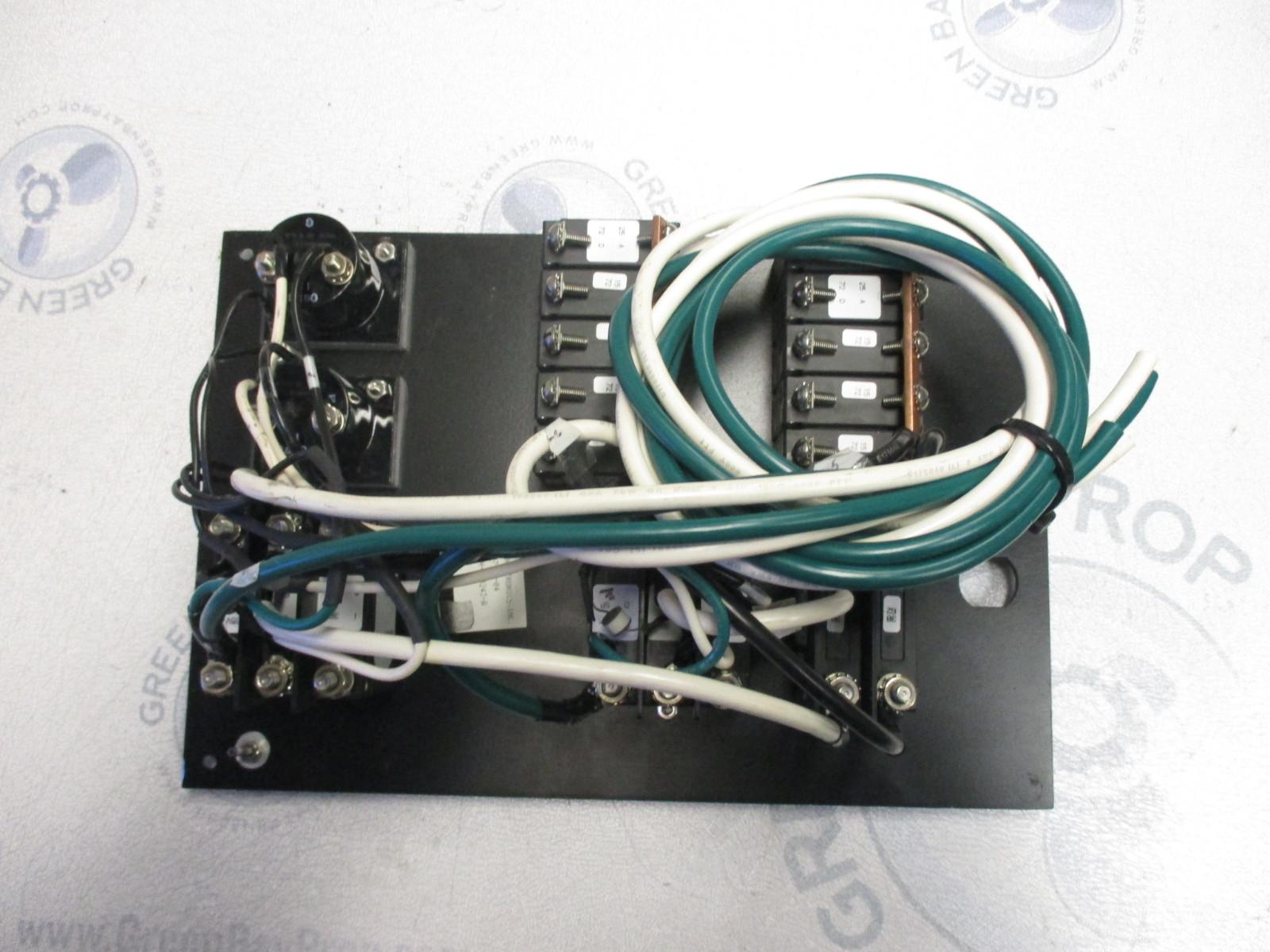 marine boat breaker panel main controls 120v 60hz ac system