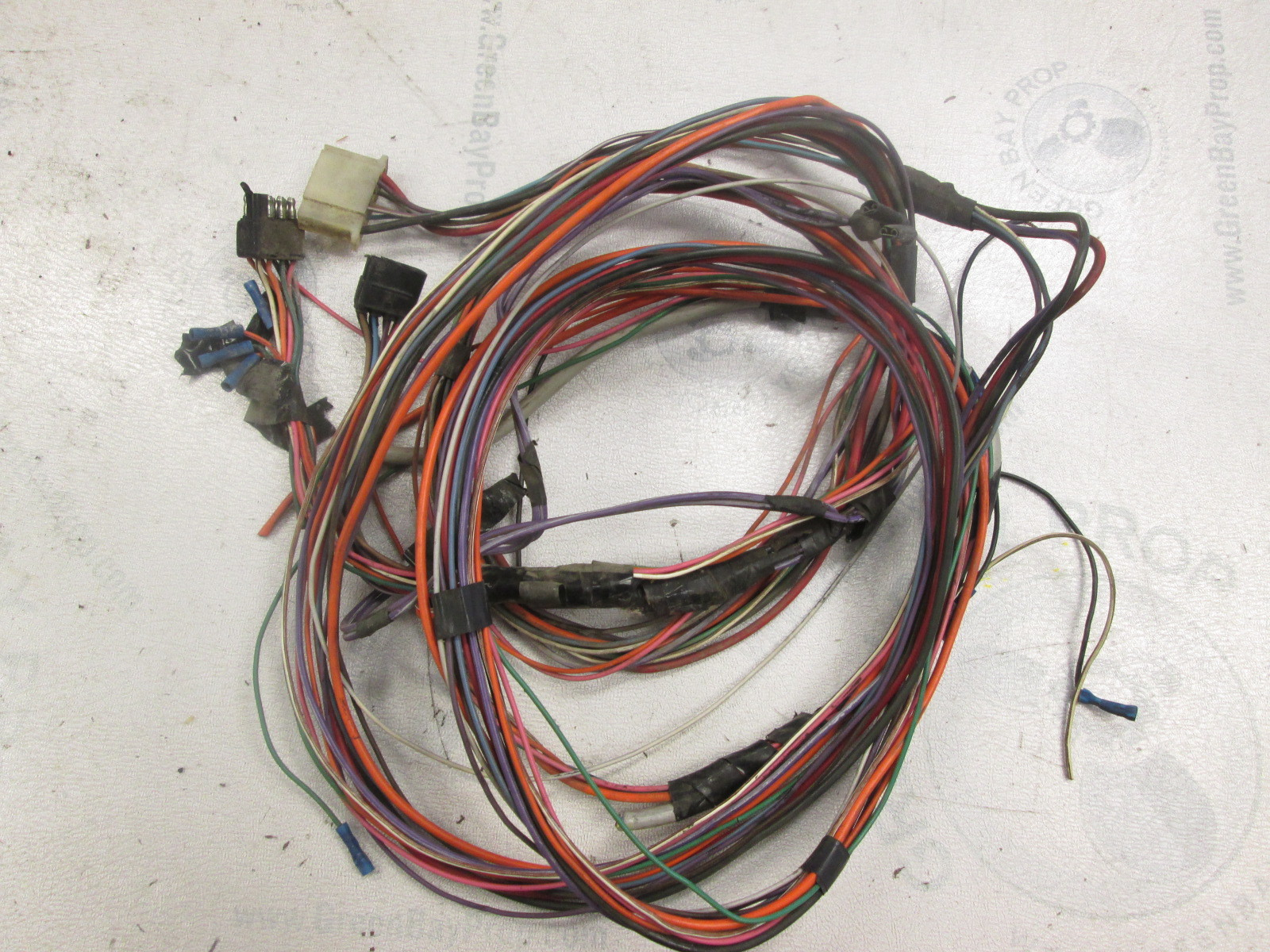 14 ft Engine to Dash Wire Harness Bayliner Cascade with Volvo Penta AQ130  ...