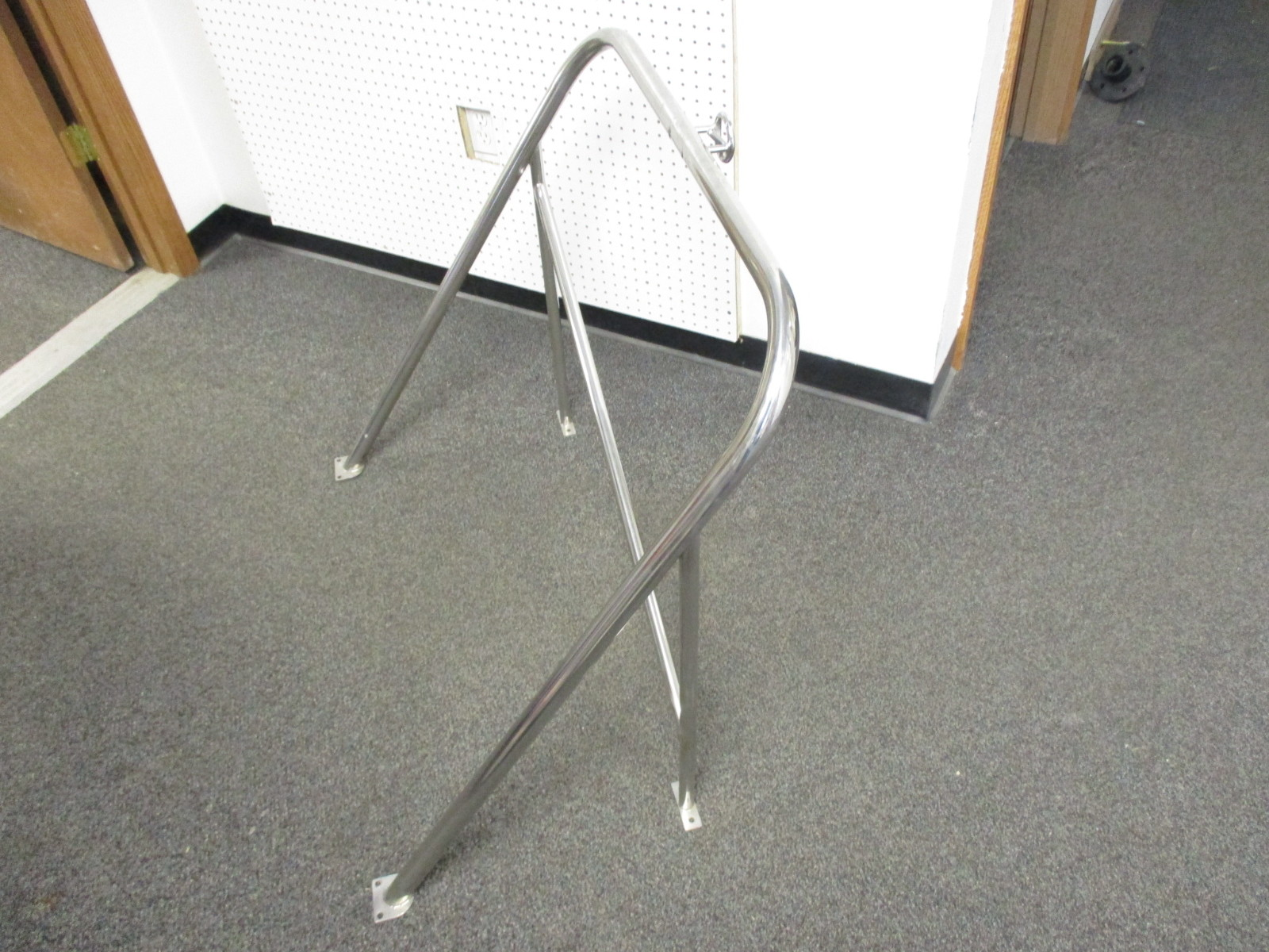 Marine Pontoon Boat Outboard Ski Tow Pylon Pole Stainless Steel Fixed  Height 32