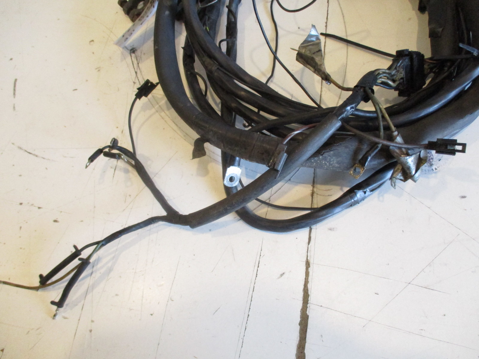 0381536 Evinrude Johnson 22 Ft Engine To Dash Key Switch Wire Harness 0382633