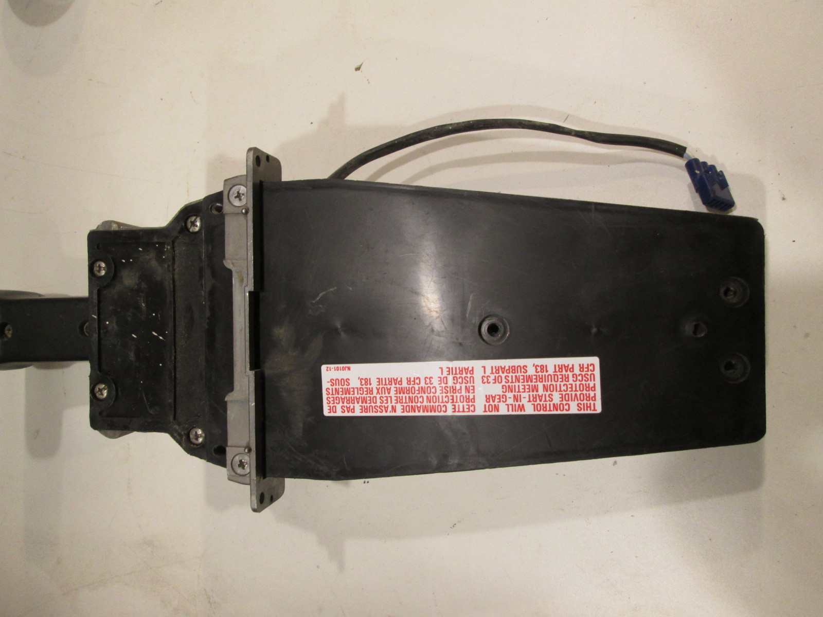 06240-ZW5-U40 HONDA SINGLE ENGINE TOP MOUNT BOAT REMOTE CONTROL FOR PARTS  ONLY