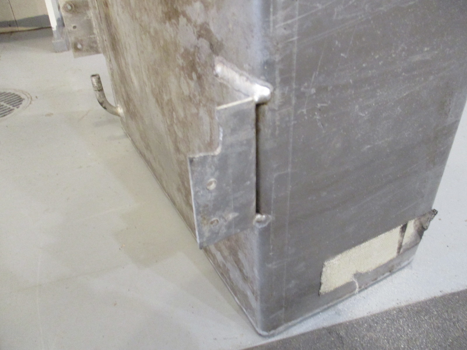 Aluminum Marine Boat Gas Tank Fuel Cell 44 Gallon 57 X 21 X 8 5 Inches