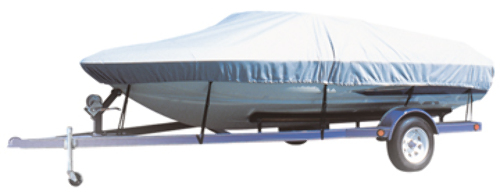 "CARVER FLEX-FIT BOAT COVER-V-Hull Fishing or Narrow Bass Boats 14-16', 78"" Max. Beam"