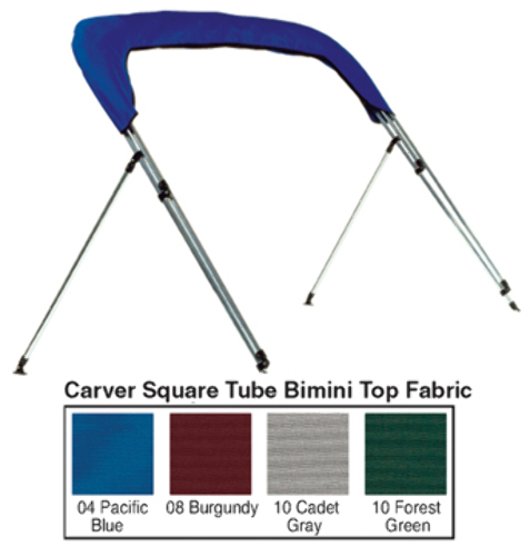 STORAGE BOOT FOR PONTOON REPLACEMENT CANVAS-8' Boot, Pacific Blue