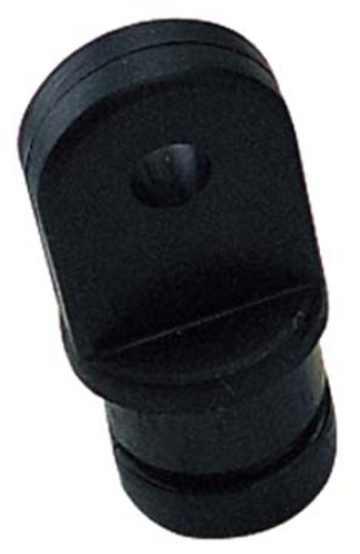 "TOP FITTINGS, NYLON, 7/8""-Black Top Insert; Tube O.D. 7/8""; Pin Size 1/4"""