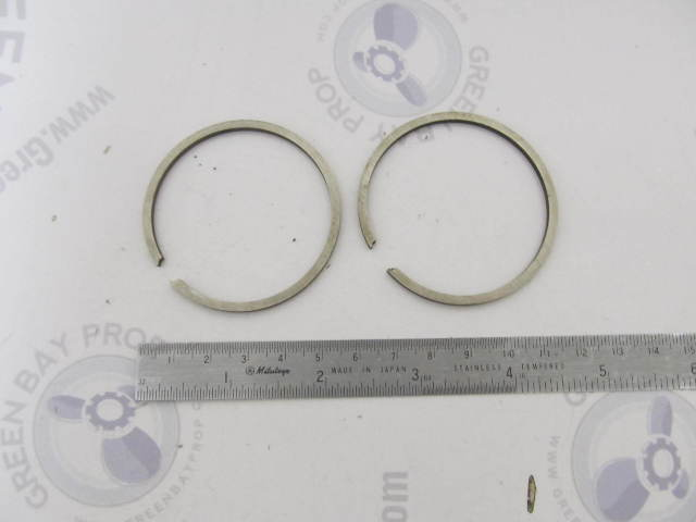 0378411 378411 Std Piston Ring Set of 2 OMC Evinrude Johnson Vintage