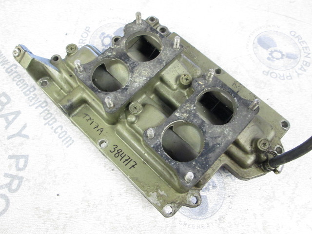 0384717 Evinrude Johnson 85-125 Hp Outboard Intake Manifold & Reed Plates
