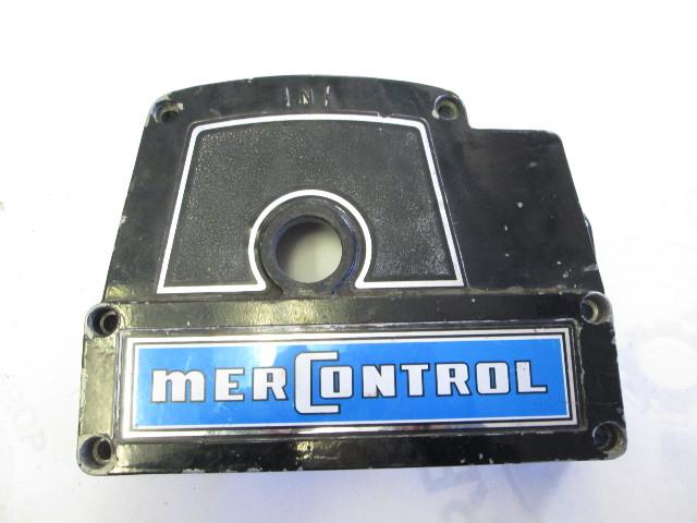 45939 2 Mercury Mariner Throttle Remote Control Front Housing 1970's