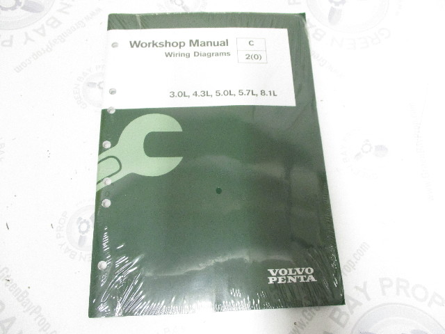 7749124 Volvo Penta Service Workshop Manual Wiring