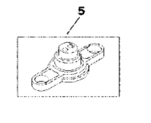 25-805294 Mercury Mercruiser Alpha Bravo Stern Drive Grommet