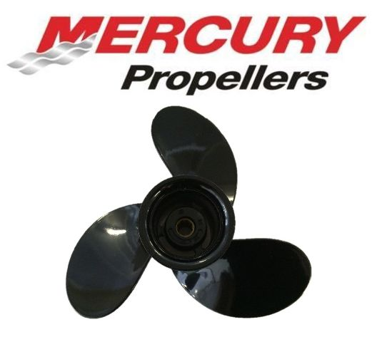 9.25 x 7 Pitch Alum Prop for Mercury Mariner 6-15 HP Outboard