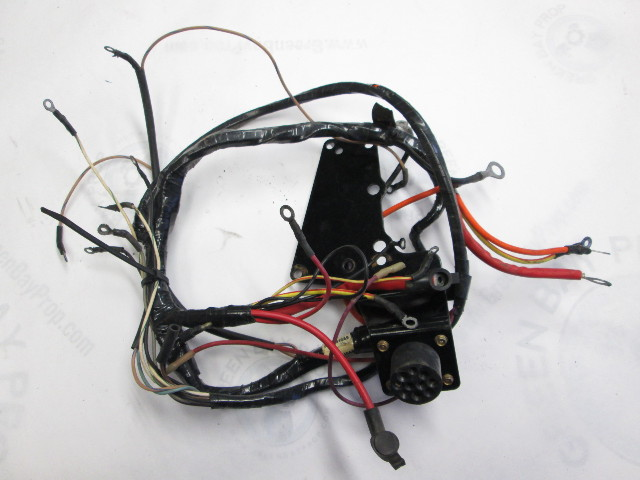 chevy 4 3 engine diagram 84-99510a9 engine wire harness for mercruiser 4.3 v6 stern ...