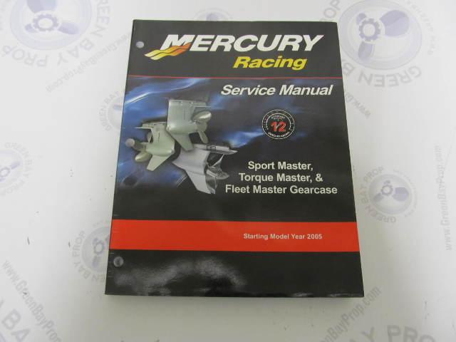 mercury racing manual