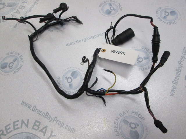 0984649 omc cobra ford 2 3l stern drive engine wire harness cable 1987