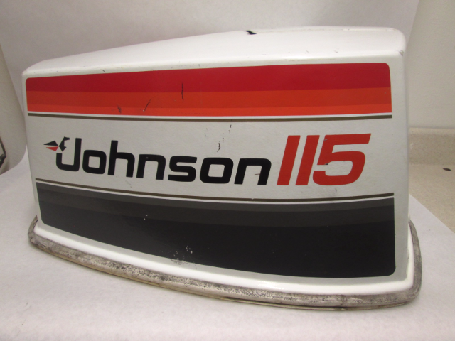 Details About 115 Hp V4 Top Cowling Motor Cover Assy Johnson Evinrude Omc Sea Horse Freshwater