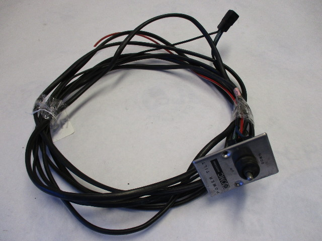 omc johnson evinrude power trim & tilt wire harness and switch 18' | green  bay propeller & marine llc