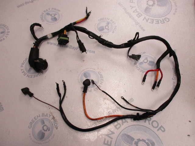 3857034 Volvo Penta SX & OMC Co 3.0 4 Cyl Engine Wire Harness on