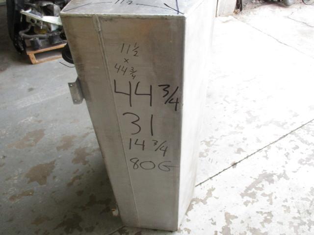 "Aluminum Boat Gas Tank 80 Gallon 44 3/4"" x 31"" x 14 3/4"" Clean"