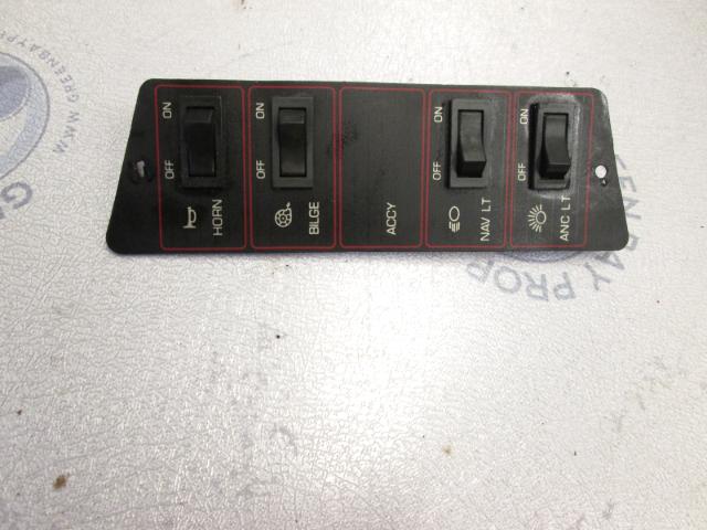 1989 Bayliner Capri Dash Panel W/Switches