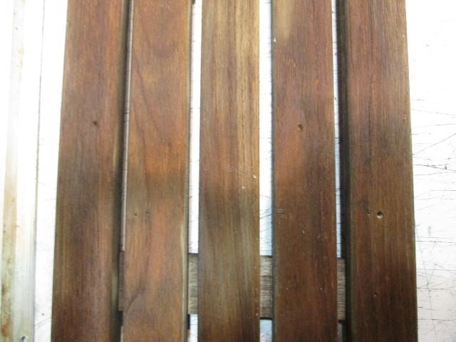 Details about Teak Wood Boat Floor Deck Ski Hatch Cover & Aluminum Frame 35  1/4 x 11 1/4