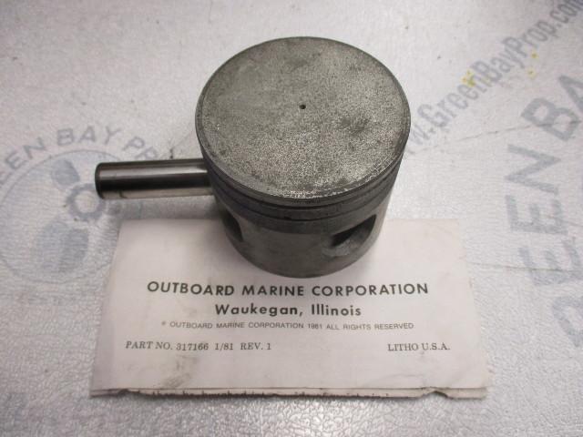 0386311 386311  New OEM OMC Evinrude Johnson 70-75 HP Outboard Piston & Pin NLA